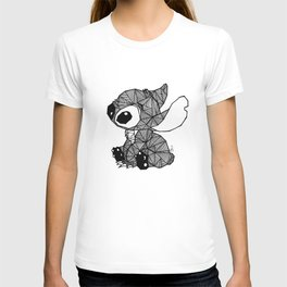 Geometric Stitch T-shirt