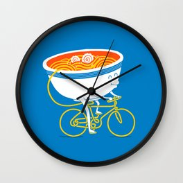 GoGo Ramen Wall Clock