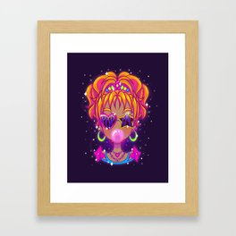 Pop Gal Framed Art Print