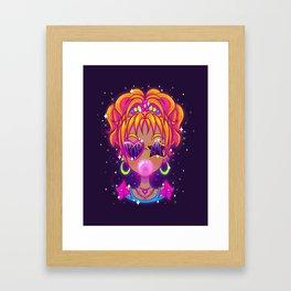 Pop Gal Framed Art Print