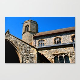 Round Tower - Sedgeford Canvas Print