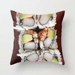 California Roll Throw Pillow