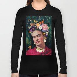 Frida Kahlo :: World Women's Day Long Sleeve T-shirt