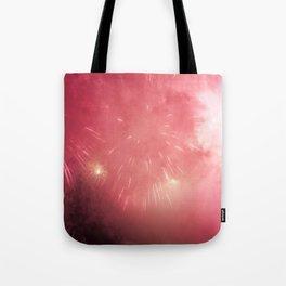 Universe of Fireworks. Tote Bag