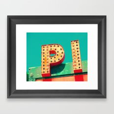 3.14159 Framed Art Print