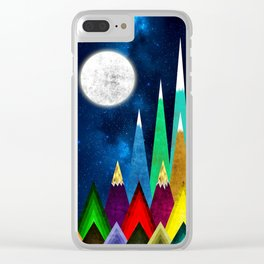 Great Moonlight Clear iPhone Case
