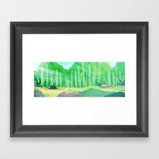The forrest Framed Art Print