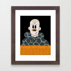 Spider Bro Framed Art Print