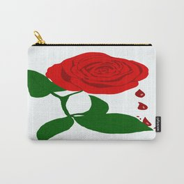 Rose  & Blood  Carry-All Pouch