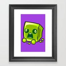 Slime Balls Framed Art Print