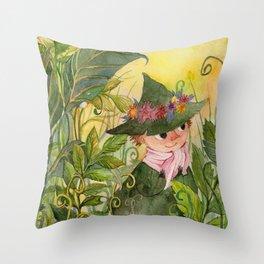 Snusmumriken / Snufkin Throw Pillow