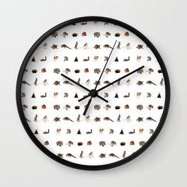 Australian wildlife Wall Clock