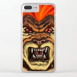 The Thunder Strikes! Clear iPhone Case
