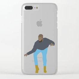 Drake 1 Clear iPhone Case