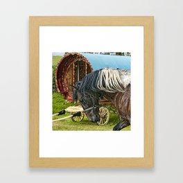 Gypsy Horse Fair Framed Art Print
