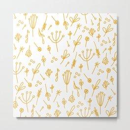 Dandelion Fields Metal Print