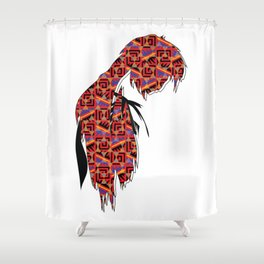 Just be Patient! Shower Curtain