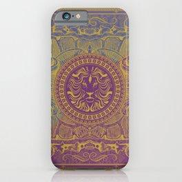 Medalion Purple iPhone Case