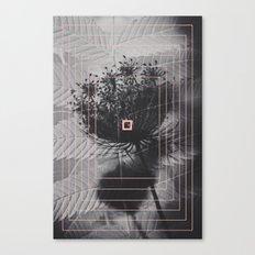 Double Exposure Canvas Print