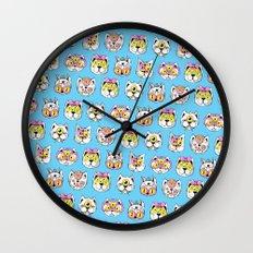 Extraterrestrial Cats Wall Clock