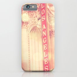 Los Angeles Theatre photograph iPhone Case