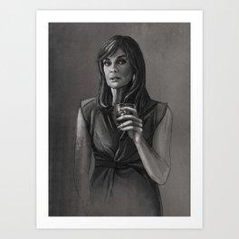 DALLAS - SUE ELLEN EWING Art Print