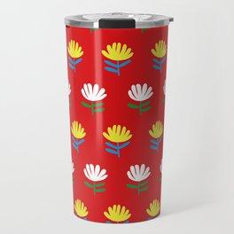 Exotic flowers Travel Mug