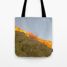 Sol, tierra y cielo Tote Bag