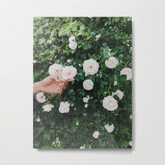 Brooklyn Flowers Metal Print