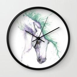 Sea horse Wall Clock