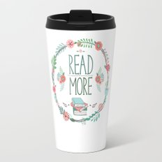 Read More Floral Wreath Travel Mug
