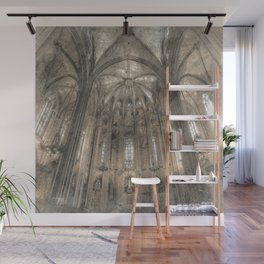 Cathedral in Wall Mural