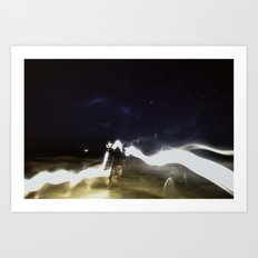 Lead by the Light Art Print