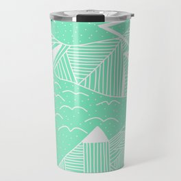 Carnival Glass Sky Life Stripes Travel Mug