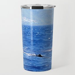 Whale Watching in the Caribbean Travel Mug