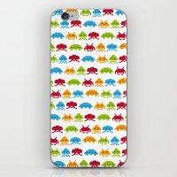 8 bit iPhone & iPod Skins featuring 8-bit by Giuseppe Paletta