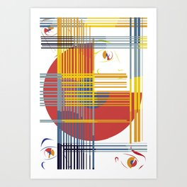 gridlocked Art Print