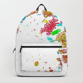 Australian Native Florals - Graphic Backpack