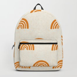 Rainbow Pattern Backpack