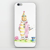 louis iPhone & iPod Skins featuring Louis by Fournier