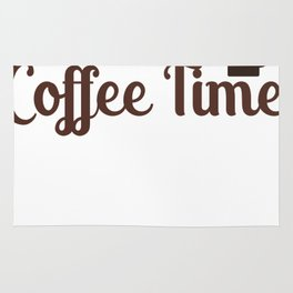 It's Always Coffee Time Rug