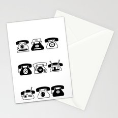 Fifties' Smartphones Stationery Cards