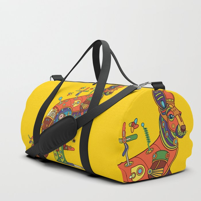 Kangaroo, cool wall art for kids and adults alike Duffle Bag