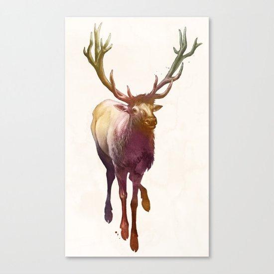 Elkish Canvas Print