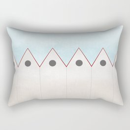 Simple Housing - love them all  Rectangular Pillow