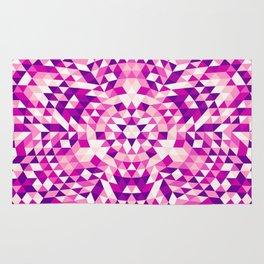Pink Shards Rug