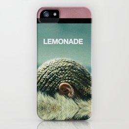 Lemonade Cover. iPhone Case