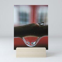 Smily windows Mini Art Print