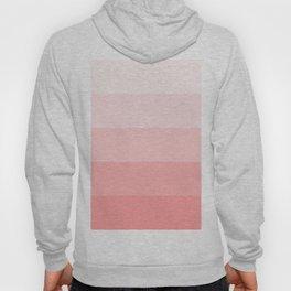 Pastel Paradise Pink Stripe Hoody