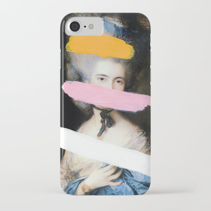 brutalized gainsborough 2 iphone case